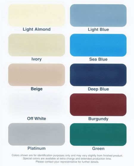 is the color of color chart