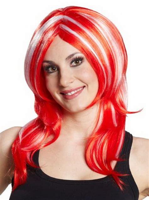 rote haare mit blonden straehnen