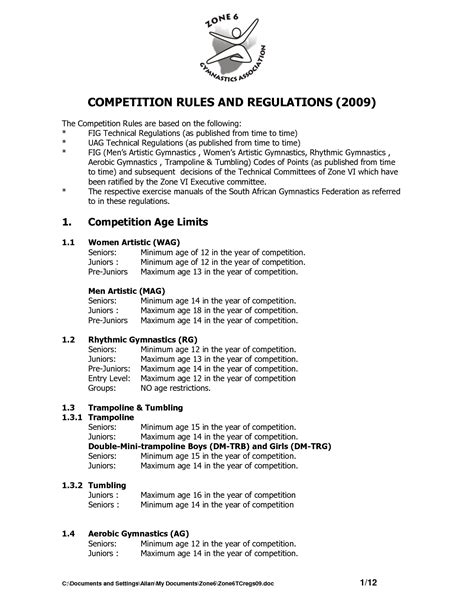 contest rules  regulations template  printable