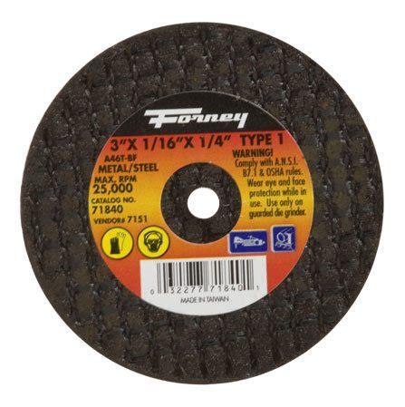 Cutting Wheels Black 16 X 3 X 1 Harga Bisa Dinegosiasi 71840 3 quot x 1 16 quot x 1 4 quot type 1 metal cut wheel wasatch steel