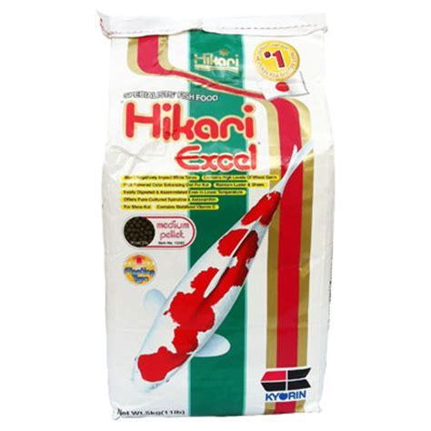 Hikari Excel 5kg อาหารปลาคาร ฟ hikari hikari excel medium pellet น ำหน ก