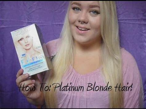 photos of extreme platinum blond hair how to platinum blonde hair youtube