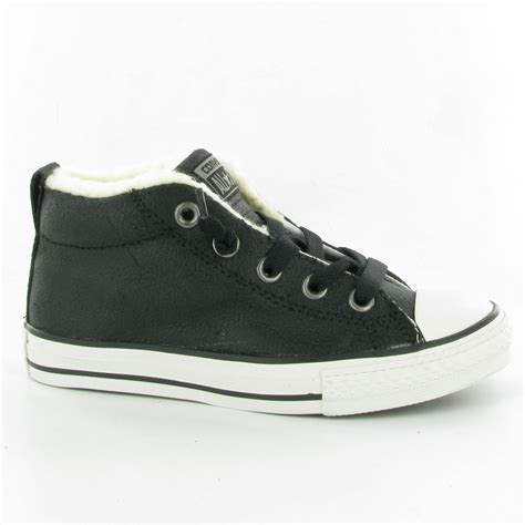chuck shoes converse chuck winter mid shoes in black