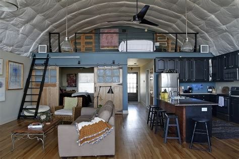 Hunting Cabin Plans by Cool Quonset Hut Home In Louisiana