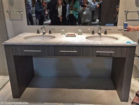 counter height bathroom vanities the 5 top kitchen and bath trends at kbis 2015