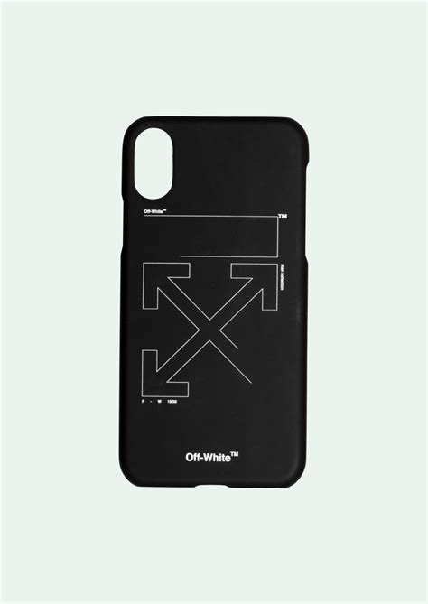 white iphone xxsmax unfinished arrows case   hype