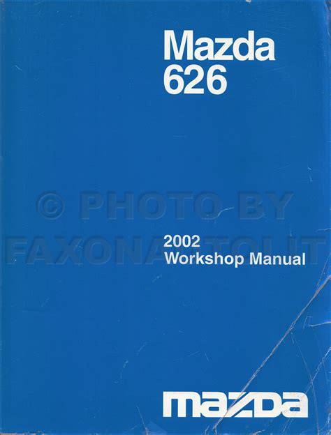 car repair manuals online pdf 2002 mazda 626 seat position control 2002 mazda 626 repair shop manual original