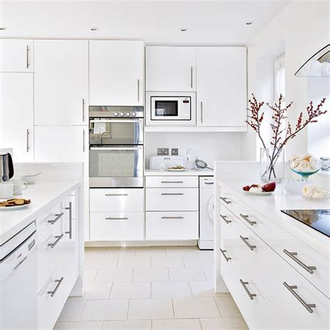 floor to ceiling kitchen cabinets kitchen contemporary white gloss kitchen with floor to ceiling units