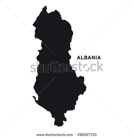 albania map vector stock images royalty free images vectors