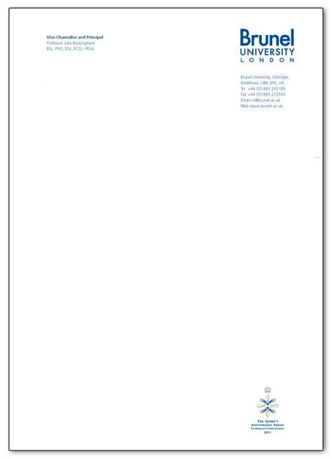 print letter headed paper exle of letter headed paper docoments ojazlink