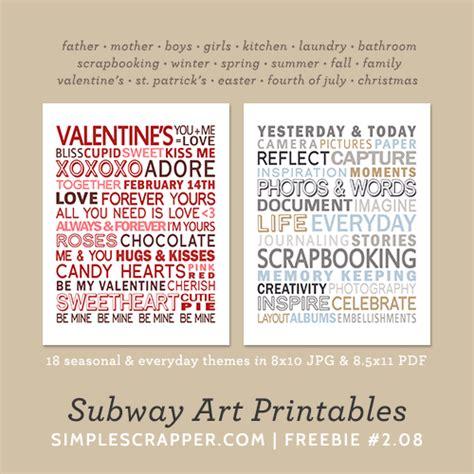 free printable subway template free scrapbooking downloads