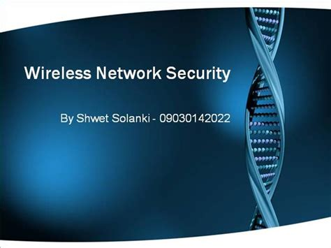ppt templates for network security wireless network security authorstream