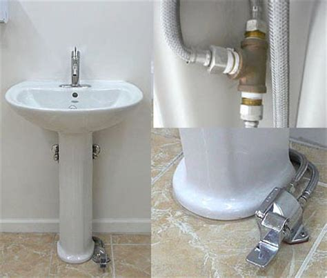 Pedal Faucet by Free Foot Operated Water Mixing Single Pedal