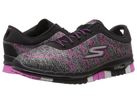 Skechers Go Flex Tali 6 skechers performance go flex ability black pink