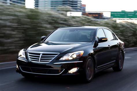 2014 genesis review 2014 hyundai genesis new car review autotrader