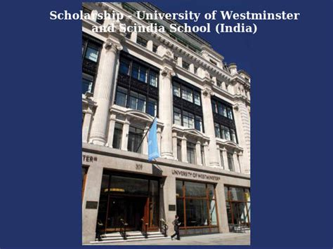 Westminster International College Mba by Scholarship Of Westminster And Scindia School
