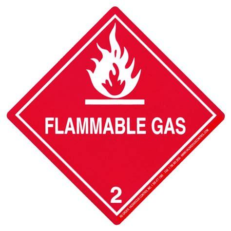 printable hazard label hazardous control dot hazmat placards hazard class 2
