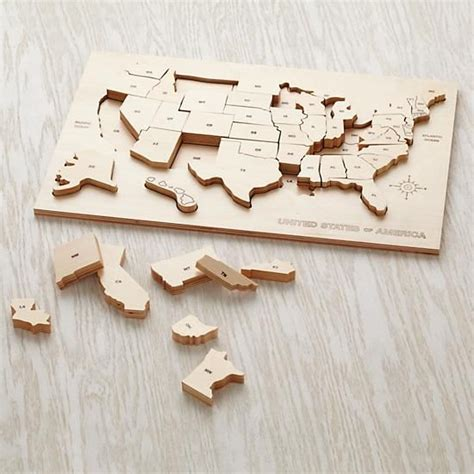 us map puzzle wood 25 best ideas about world map puzzle on