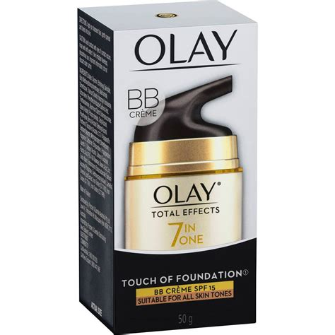 Berapa Olay Total Effect Touch Of Foundation olay total effects 7 in 1 touch of foundation bb creme spf