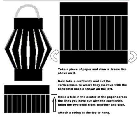 paper lantern template ideas free stuff to do