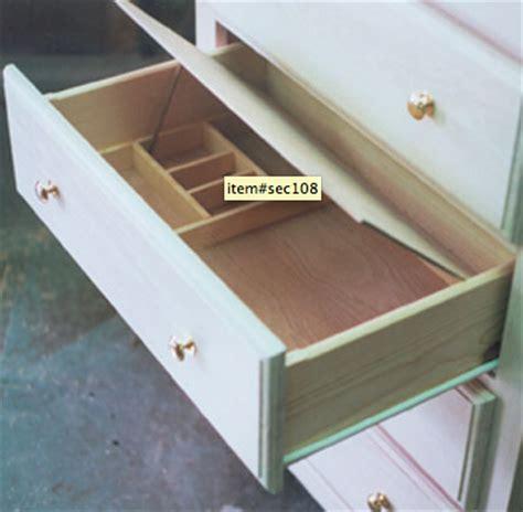 Bottom Drawer False Bottom Drawer Furniture Compartment Stashvault