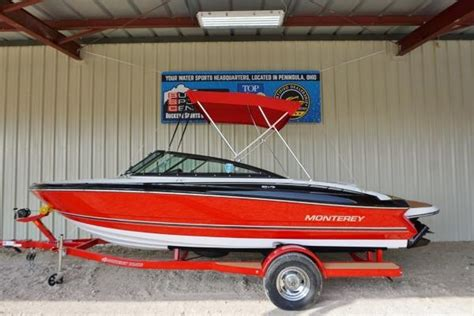 used monterey boats for sale in ohio monterey boats for sale in peninsula ohio