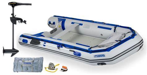 sea eagle inflatable boats sea eagle 12 6 srrik inflatable boat w free motor