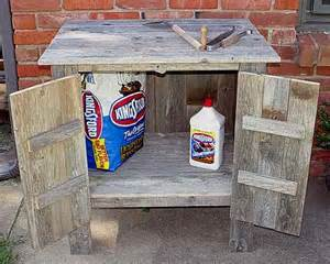 outdoor wood cabinets rustic storage cabinet