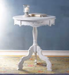 romantic rococo accent table shabby cottage furniture