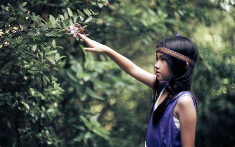 imagenes reflexivas de niños fondos de pantalla 2560x1600 cabello negro nia indios