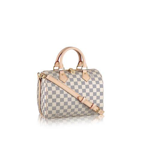 Home Decor Stores In Usa speedy bandouli 232 re 25 damier azur canvas handbags
