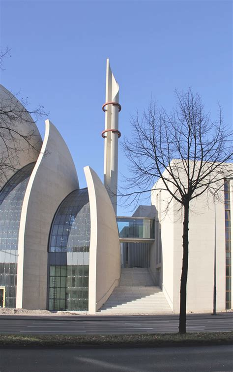 masjid arch design cologne central mosque of cologne by architectural firm
