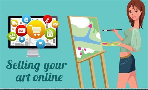 How To Make Money With Art Online - 10 ways to make money by selling your art online