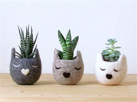 animal pots gifts for cat lovers cat planters creative ads and more