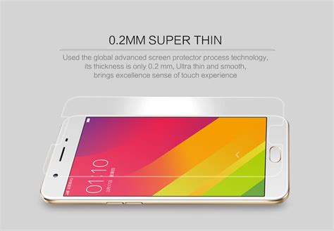 Anti Sense For Oppo F1s nillkin amazing h pro tempered glass screen protector for