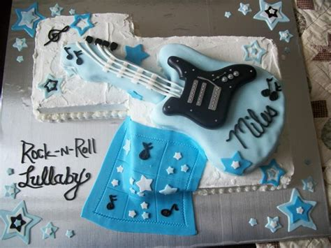 Rock And Roll Baby Shower by Rock N Roll Theme Baby Shower Cake Ideas