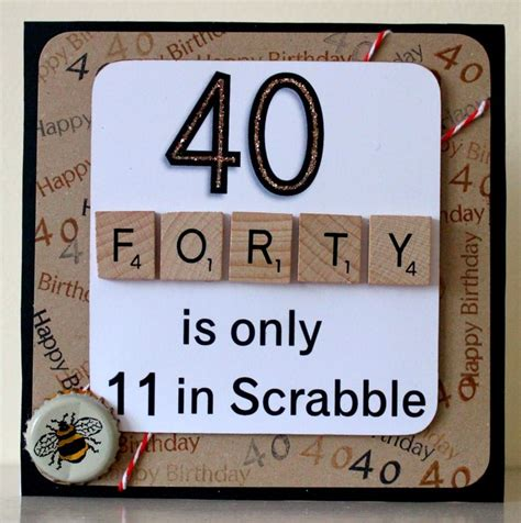 25 best ideas about 40th birthday cards on 40 birthday 40th birthday gifts and