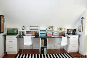 Built In Desks For Home Office Craft Room Storage Cabinet Knocktoberfest Finding Home Farms