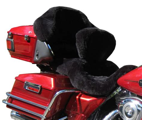 sheepskin motorcycle seat covers custom ultimate sheepskin