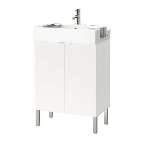 ikea bathroom sink cabinet reviews lill 197 ngen sink cabinet with 2 doors stainless steel