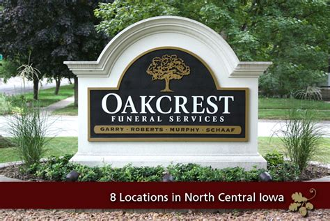 oakcrest funeral services serving 8 communites in