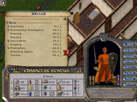 Uo Templates ultima account auction
