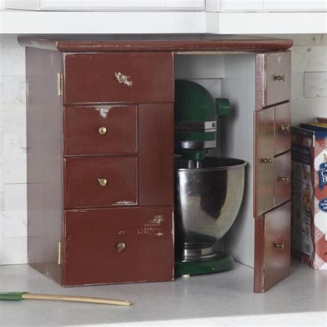 kitchen appliance garage kitchen appliance garage woodworking plan from wood magazine