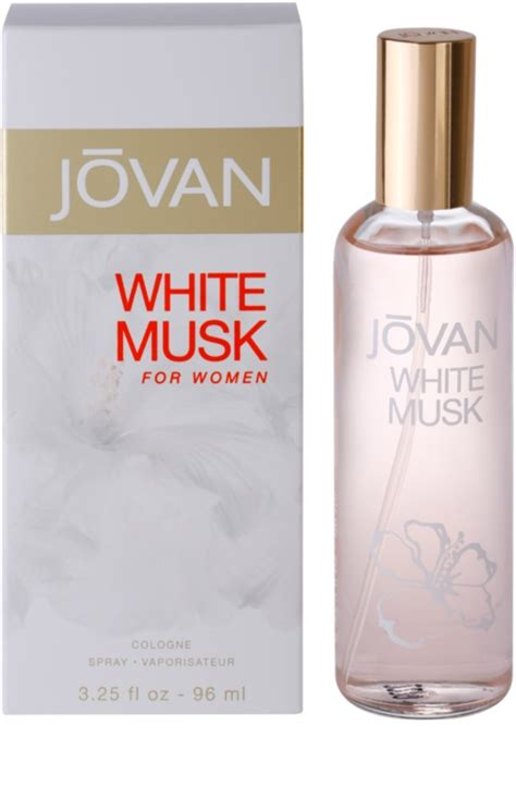 Jovan White Musk For jovan white musk eau de cologne for 96 ml notino