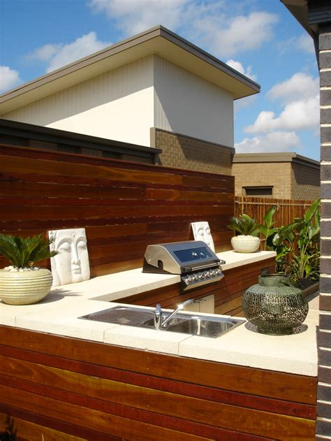 Outdoor Kitchen Ideas Bbq Grill Entertainment Area