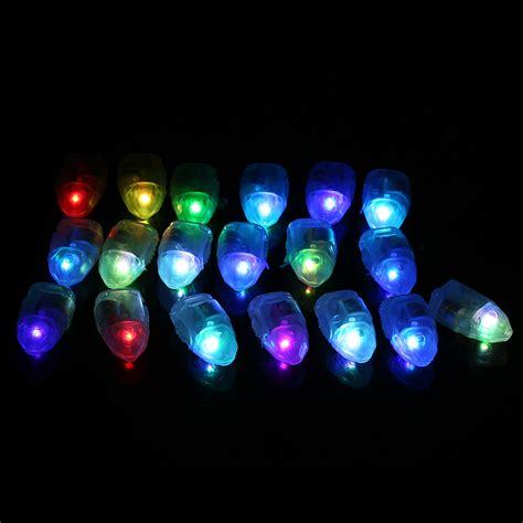 Led Glow 50x led balloon lights colour light paper lantern l glow wedding mr