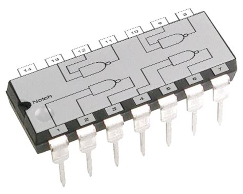 discrete logic integrated circuit chips binary logic gcse computing