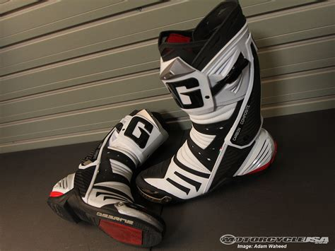 motorcycle road racing boots gaerne gp 1 road racing boots review motorcycle usa