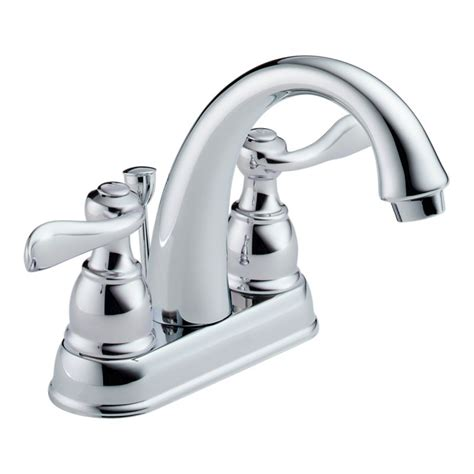 bathroom and kitchen faucets delta b2596lf chrome windemere centerset bathroom faucet