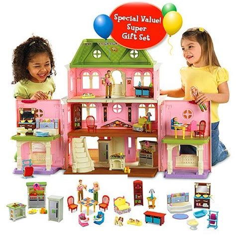 most popular doll houses great deals on fisher price loving family dollhouse accessories top rated dollhouses